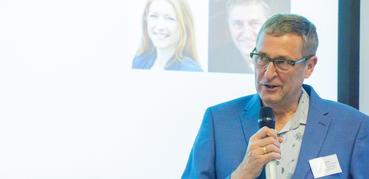 Mark Freeman speaking at a seminar