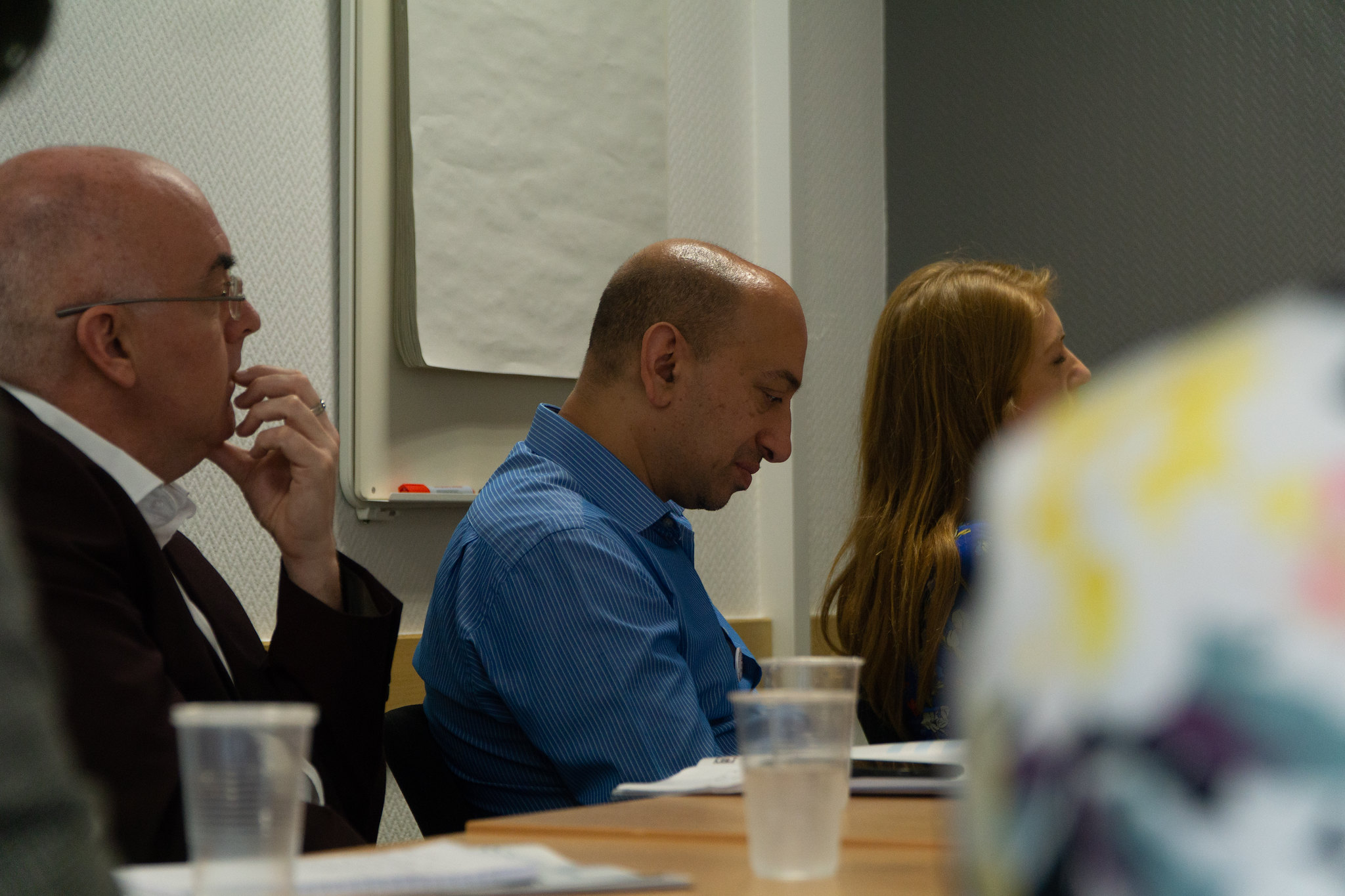 Library delegates at a seminar