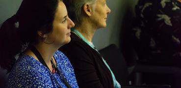 Delegates at a seminar